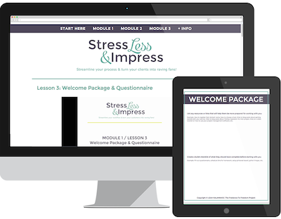 from amateur to professional - stress less & impress